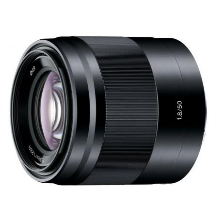 Sony SEL 50mm f/1.8 (черен)
