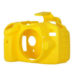 Accessory EasyCover ECND3300Y Silicone Protector for Nikon D3300 / D3400 (Yellow)