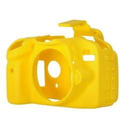 EasyCover ECND3300Y Силиконов протектор за Nikon D3300 / D3400 (жълт)