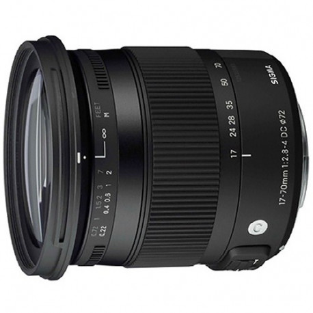 Sigma 17-70mm f / 2.8-4 DC HSM OS Macro for Canon