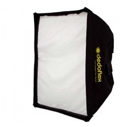 Dedolight DSBSXS DEDOFLEX MINI SOFTBOX SILVER, 30X30CM, DEPTH 23CM