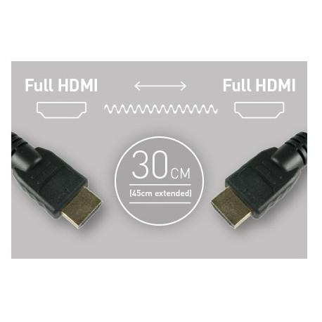 Atomos кабел 30 см. HDMI - HDMI