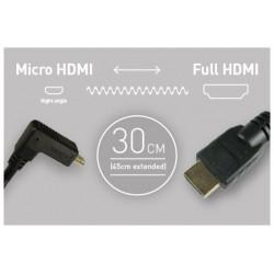 аксесоар Atomos кабел 30 см. Micro HDMI - HDMI