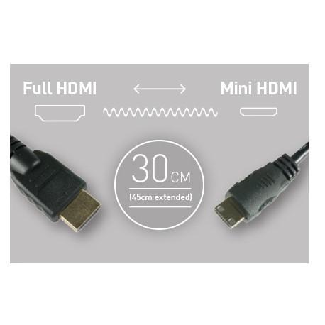 Atomos cable 30 cm HDMI - Mini HDMI