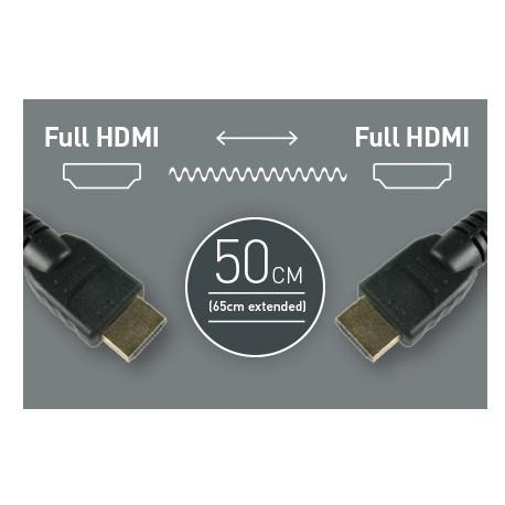Atomos cable 50 cm. HDMI - HDMI