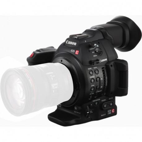 Camera Canon EOS C100 Mark II DP AF + Lens Canon EF 24-105mm f/4L IS USM II