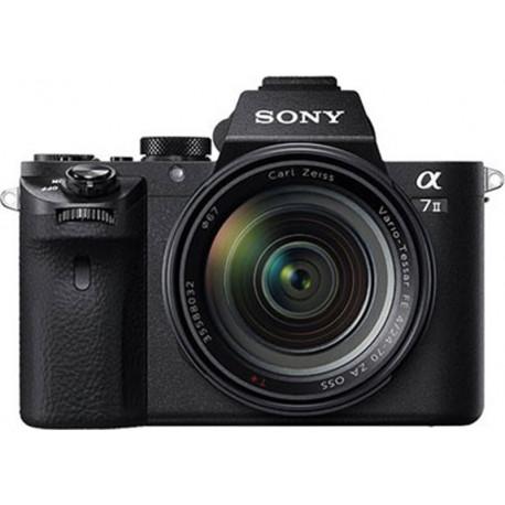 Sony A7 II + обектив Sony FE 28-70mm f/3.5-5.6 + обектив Sony FE 50mm f/1.8