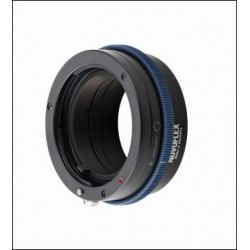 Novoflex lens adapter with Sony A bayonet to camera with Sony E bayonet
