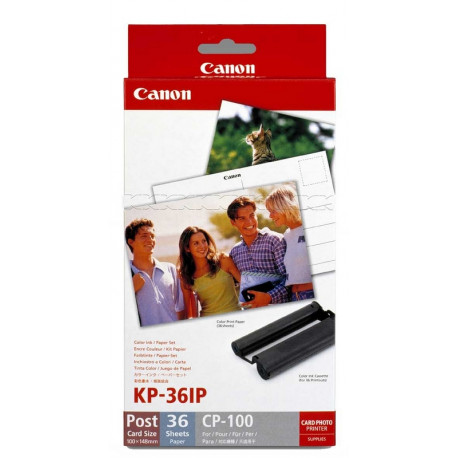 Canon KP-36IP Color Ink / Paper Set