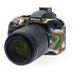 Accessory EasyCover ECND3300C - Silicone Protector for Nikon D3300 / D3400 (Camouflage)