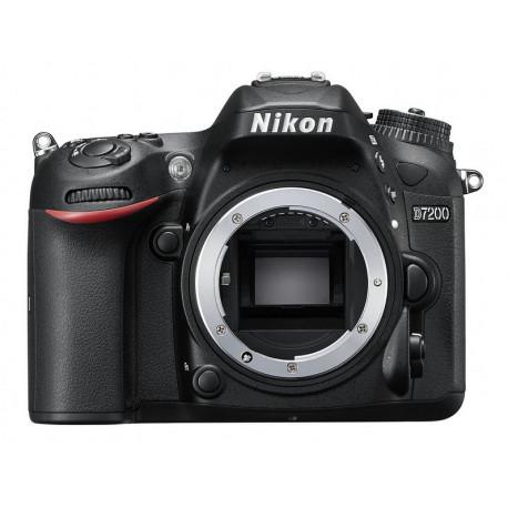 фотоапарат Nikon D7200 + обектив Nikon 18-140mm VR + обектив Nikon 50mm f/1.8D + аксесоар Nikon ML-L3 + аксесоар Nikon 100-TH Anniversary Premium Camera Strap (черен)