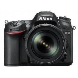 Nikon D7200 + обектив Nikon 18-105mm VR + батерия Nikon EN-EL15B + карта Lexar 32GB Professional UHS-I SDHC Memory Card (U3)
