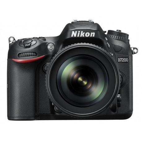 Nikon D7200 + обектив Nikon 18-105mm VR + чанта Nikon DSLR BAG + карта Lexar Professional SD 64GB XC 633X 95MB/S