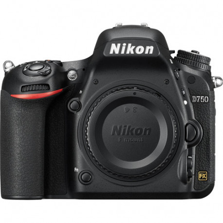 DSLR camera Nikon D750 + Memory card Lexar Professional SD 64GB XC 633X 95MB / S