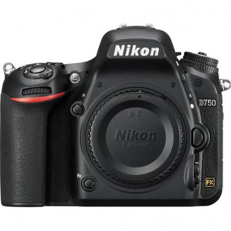DSLR camera Nikon D750 + Lens Nikon 28-300mm f/3.5-5.6 VR + Memory card Lexar Professional SD 64GB XC 633X 95MB / S