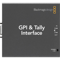 Video Device Blackmagic GPI & Tally Interface for ATEM Production Switchers