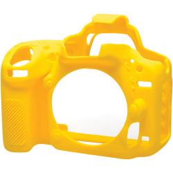 аксесоар EasyCover ECND750Y - Силиконов протектор за Nikon D750 (жълт)