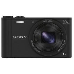 Camera Sony DSC-WX350 (Black) + Memory card Lexar 32GB Professional UHS-I SDHC Memory Card (U3)