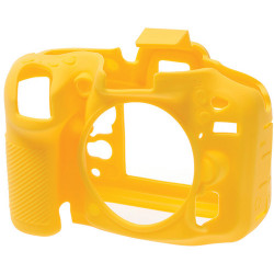 EasyCover ECND7100Y - Силиконов протектор за Nikon D7100 и D7200 (жълт)
