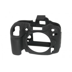Accessory EasyCover ECND7100B - Silicone Protector for Nikon D7100 and D7200 (Black)