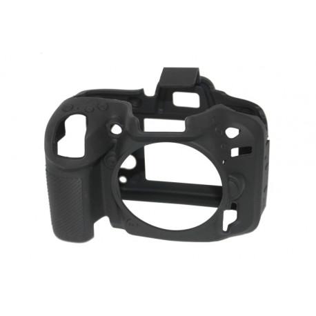 EasyCover ECND7100B - Силиконов протектор за Nikon D7100 и D7200 (черен)