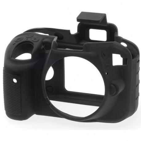 EasyCover ECND3300B - Силиконов протектор за Nikon D3300 / D3400 (черен)