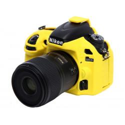 аксесоар EasyCover ECND600Y - Силиконов протектор за Nikon D600/D610 (жълт)