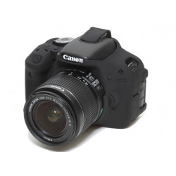 ECC600DB - Силиконов протектор за Canon 600D (черен)