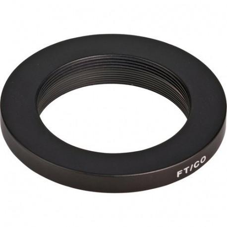 Novoflex M42 lens lens adapter to FT bayonet camera