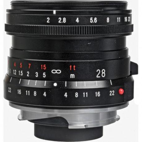 Voigtlander 28mm f/2 Ultron - Leica M