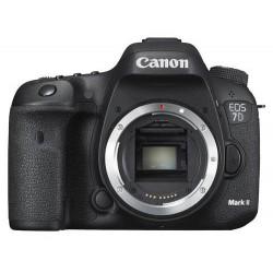 фотоапарат Canon EOS 7D Mark II + аксесоар Canon W-E1 + обектив Canon EF 50mm f/1.8 STM