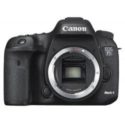 DSLR camera Canon EOS 7D Mark II + Canon W-E1 Accessory + Lens Canon EF 50mm f/1.8 STM