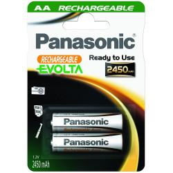 батерия Panasonic 2 бр. акумулаторни батерии AA 2450MAH