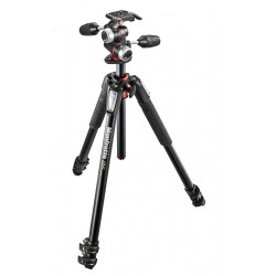 Manfrotto MK055XPRO3 aluminum tripod with X-Pro three-position head