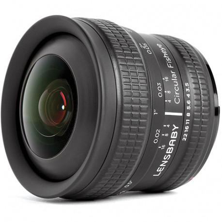 Lensbaby 5.8mm f/3.5 CIRCULAR FISHEYE за Nikon