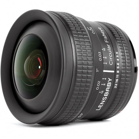 Lensbaby 5.8mm f / 3.5 CIRCULAR FISHEYE for Canon