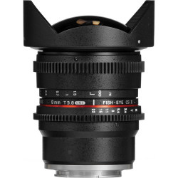 обектив Samyang 8mm T/3.8 VDSLR Fish-eye CS II - Sony E
