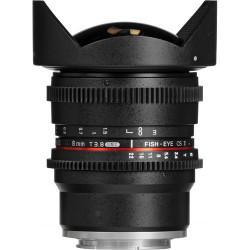 Lens Samyang 8mm T/3.8 VDSLR UMC Fisheye CS II - Sony E