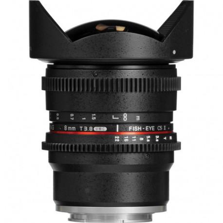 Samyang 8mm T/3.8 VDSLR UMC Fisheye CS II - Sony E