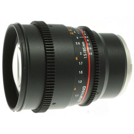 Samyang 85mm T/1.5 VDSLR - Sony Е