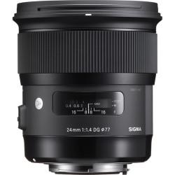 обектив Sigma 24mm f/1.4 DG HSM Art - Nikon F