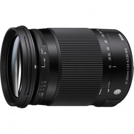 Sigma 18-300mm f/3.5-6.3 DC OS HSM C - Nikon F