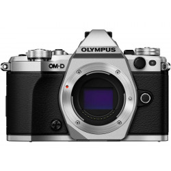 фотоапарат Olympus OM-D E-M5 MARK II (сребрист) + обектив Olympus M.Zuiko Digital ED 12-40mm f/2.8 PRO