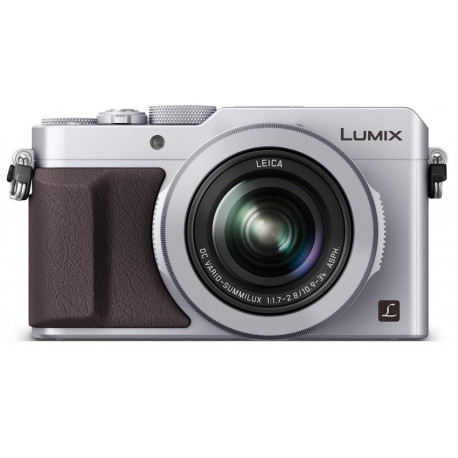 фотоапарат Panasonic LUMIX LX100 (сребрист) + батерия Panasonic Lumix DMW-BLG10 Li-Ion Battery Pack