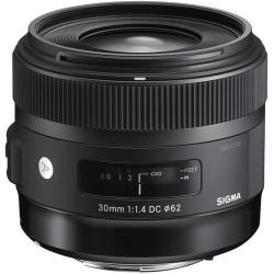 Sigma 30mm f / 1.4 EX DC HSM A - Nikon F