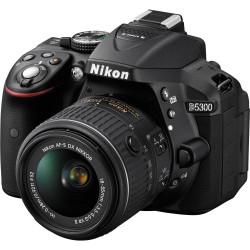 NIKON D5300 BLACK+AF-P 18-55MM VR KIT