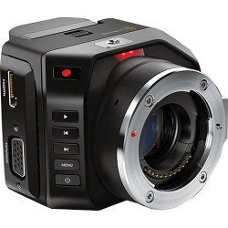 камера Blackmagic Micro Cinema Camera + карта Lexar Professional SDXC 128GB R:100/W:90MB/s