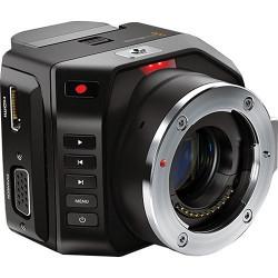 Camera Blackmagic Micro Cinema Camera + Lens 7artisans 7.5mm f / 2.8 Fisheye - MFT