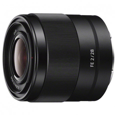Lens Sony FE 28mm f/2 + converter Sony SEL 075-UWC Ultra Wide Converter 0.75X