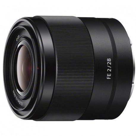 Lens Sony FE 28mm f/2 + converter Sony SEL 057-FEC Fisheye Converter